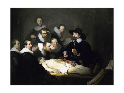 The Anatomy Lesson of Dr Nicolaes Tulp, 1632 Giclee Print by  Rembrandt van Rijn