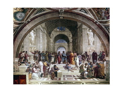 School of Athens, C1510 Giclee Print by  Raphael