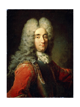 Portrait of a Man, Early 18th Century Giclee Print by Robert Tournieres