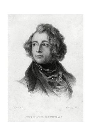 Charles Dickens, English Author, C1870S Giclee Print by Robert Graves