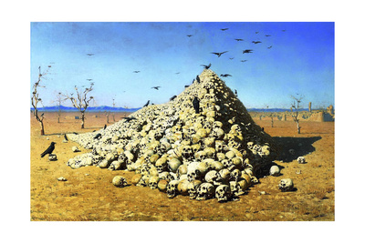 Apotheosis of the War, 1871 Giclee Print by Vasily Vereshchagin