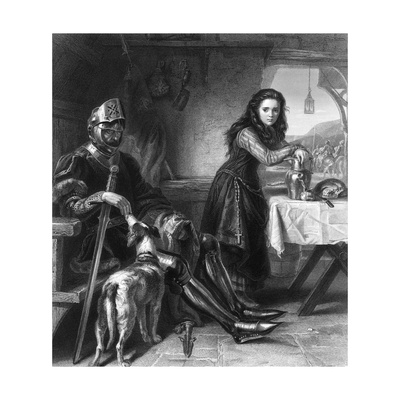 The Maid of Orleans, C1870S Giclee Print by T Ballin