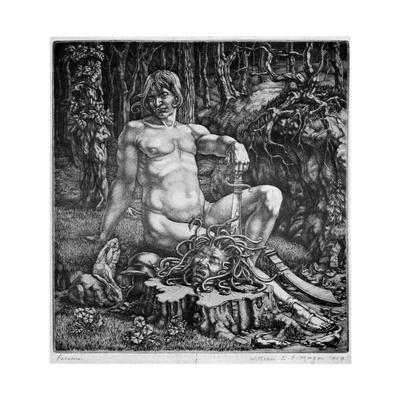 Perseus, 1929 Giclee Print by William EC Morgan