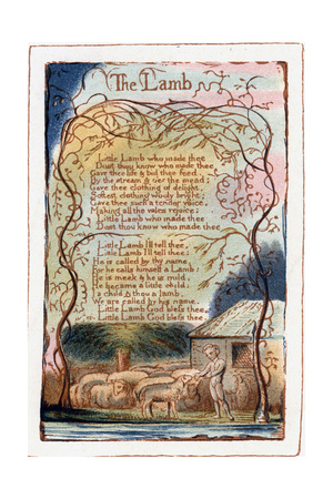 The Lamb, Illustration from 'Songs of Innocence and of Experience', C1770-1820 Giclee Print by William Blake