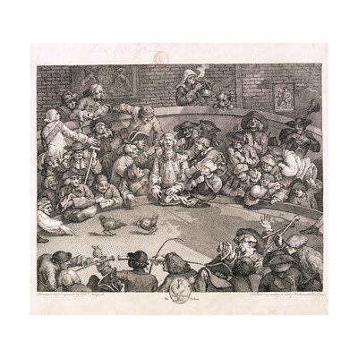 The Cockpit, London, 1759 Giclee Print by William Hogarth
