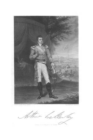 Arthur Wellesley, 1st Duke of Wellington, C1803 Giclee Print by Robert Home