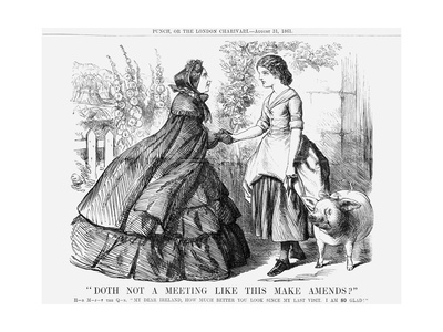 Doth Not a Meeting Like This Make Amends, 1861 Giclee Print