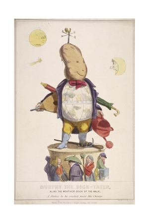 Murphy the Dick-Tater, Alias the Weather Cock of the Walk, 1837 Giclee Print by  Standidge & Co