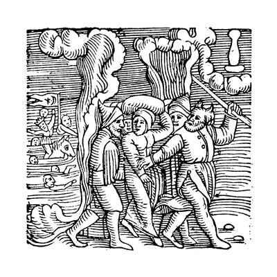 Moses Delivering the Israelites from Egypt, 1557 Giclee Print