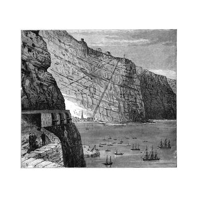 Jacob's Ladder Leading to Munden's Battery, Jamestown, Saint Helena, C1890 Giclee Print