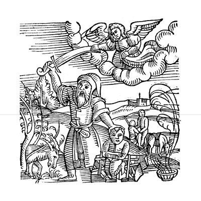 Isaac Being Saved from Sacrifice, 1557 Giclee Print