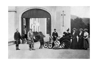 The Czars Visit to Balmoral, 1896 Giclee Print by W&d Downey