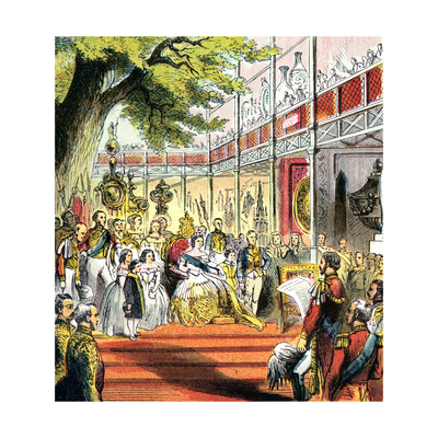 Great Exhibition of 1851 Giclee Print