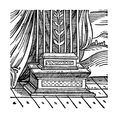 The Ark of the Covenant, 1557 Giclee Print