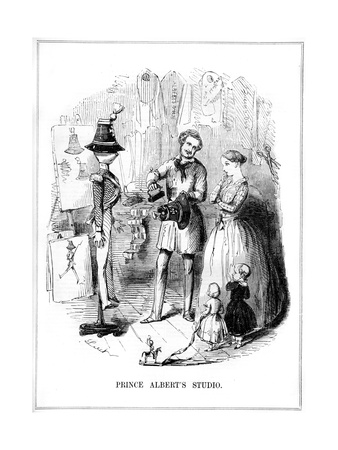 Prince Albert's Studio, 1843 Giclee Print