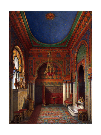 Interiors of the Winter Palace, 1870 Giclee Print by Eduard Hau