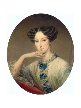 Portrait of Grand Duchess Maria Alexandrovna (1824-188), C1850 Giclee Print by Christina Robertson