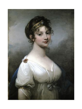 Portrait of Queen Louise of Prussia (1776-181), 1802 Giclee Print by Józef Grassi