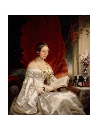 Portrait of Princess Maria Ivanovna Kochubey, Née Baryatinskaya (1818-184), 1840s Giclee Print by Christina Robertson