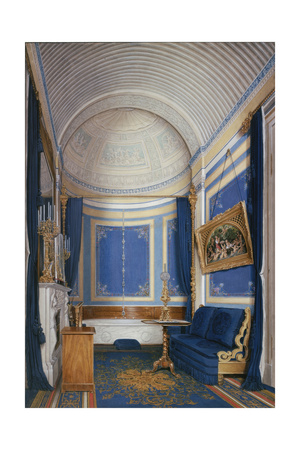 Interiors of the Winter Palace, the Bathroom of Empress Maria Alexandrovna, 1850S Giclee Print by Eduard Hau