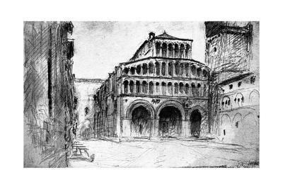 Lucca, 1832 Giclee Print by John Ruskin