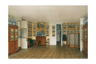 Interiors of the Winter Palace, the Valet Room of Emperor Alexander II, 1874 Giclee Print by Eduard Hau