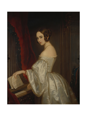 Portrait of Princess Maria Ivanovna Kochubey, Née Baryatinskaya (1818-184) Giclee Print by Christina Robertson