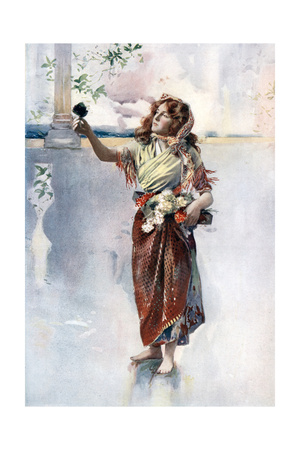 Ellaline Terriss in Bluebell in Fairyland, C1902 Giclee Print by  Ellis & Walery