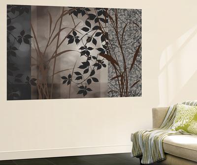 Silver Whispers I Wall Mural by Edward Aparicio