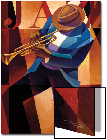Swing Poster by Keith Mallett