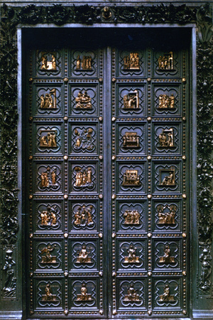 South Door of the Baptistry of San Giovanni, 1336 Photographic Print by Andrea Pisano