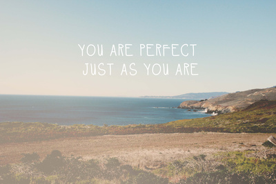 Perfect as You Are Posters by Linda Woods
