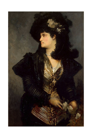 Portrait of a Woman, 1870S-1880S Giclee Print by Hans Makart