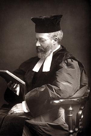 Hermann Adler (1839-191), German-Born Chief Rabbi of the British Empire, C1894 Photographic Print