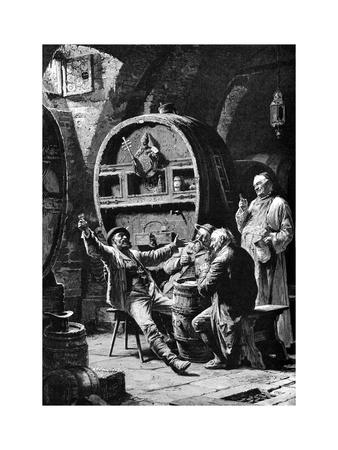 Jolly Companions, 1882 Giclee Print by Eduard Von Grutzner