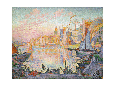 The Port of Saint-Tropez, 1901-1902 Giclee Print by Paul Signac