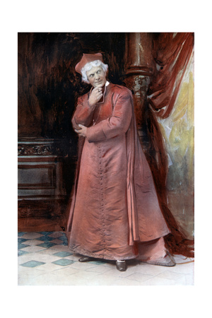 Arthur Bourchier in the Bishop's Move, C1902 Giclee Print by  Ellis & Walery