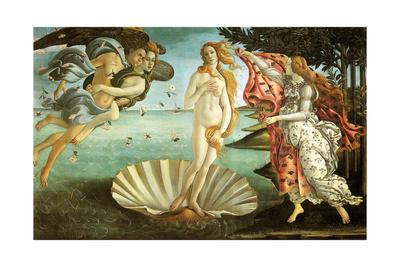 The Birth of Venus, C1482-1486 Giclee Print by Sandro Botticelli
