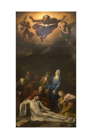 The Descent from the Cross, 1760s Giclee Print by Anton Raphael Mengs