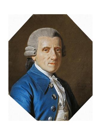Portrait of Loewis of Menar, 1784 Giclee Print by Johann Heinrich Schmidt
