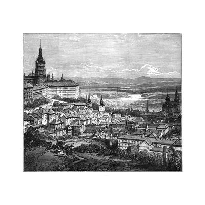 Prague, Czechoslovakia Giclee Print