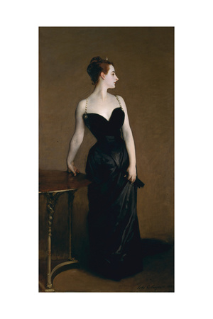 Madame X (Madame Pierre Gautrea), 1884 Giclee Print by John Singer Sargent