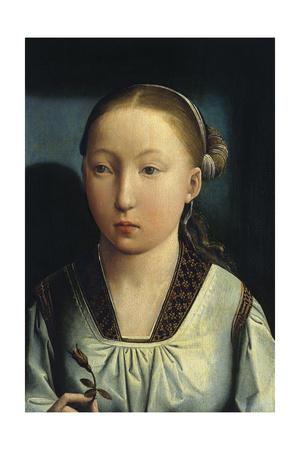 Portrait of Catherine of Aragon, C. 1496 Giclee Print by Juan de Flandes