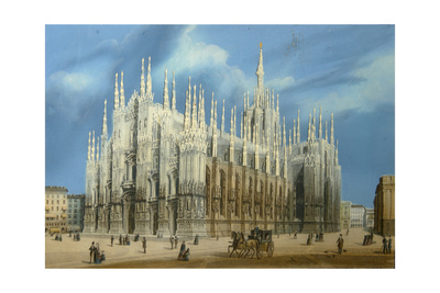 The Milan Cathedral, 1860S Giclee Print