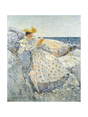 Summer Sunlight (Isles of Shoal), 1892 Giclée-Druck von Childe Hassam