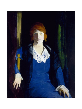 Portrait of Florence Pierce, 1914 Giclee Print by George Bellows