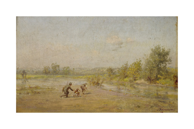 The Hunters Giclee Print by Ivan Pavlovich Pokhitonov