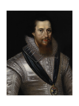 Robert Devereux, 2nd Earl of Essex (1565-160), End of 17th C Giclee Print by Marcus Gheeraerts The Younger