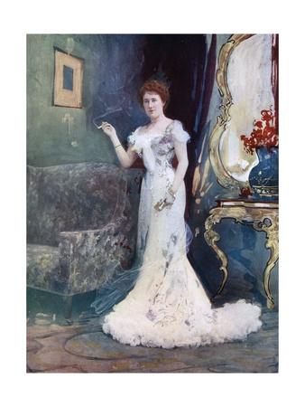 Miss Granville in an Interrupted Honeymoon, C1902 Giclee Print by  Ellis & Walery