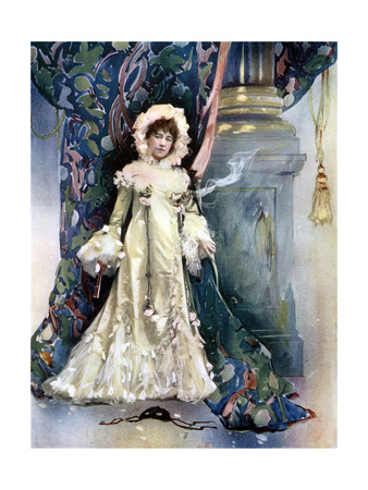 Vane Featherstone in the Price of Peace, C1902 Giclee Print by  Ellis & Walery